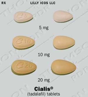 Cialis prescription dosage